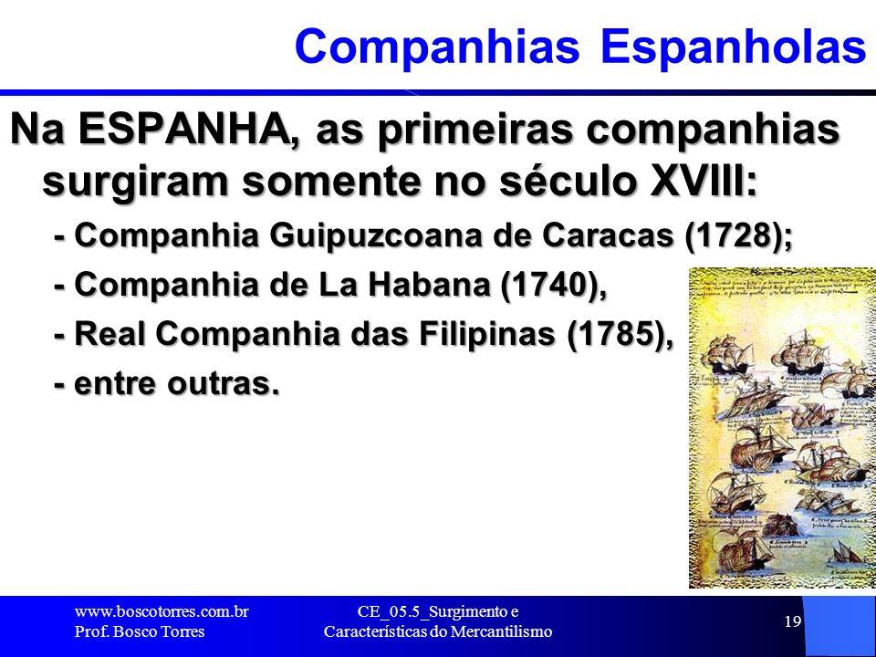 Companhias Espanholas