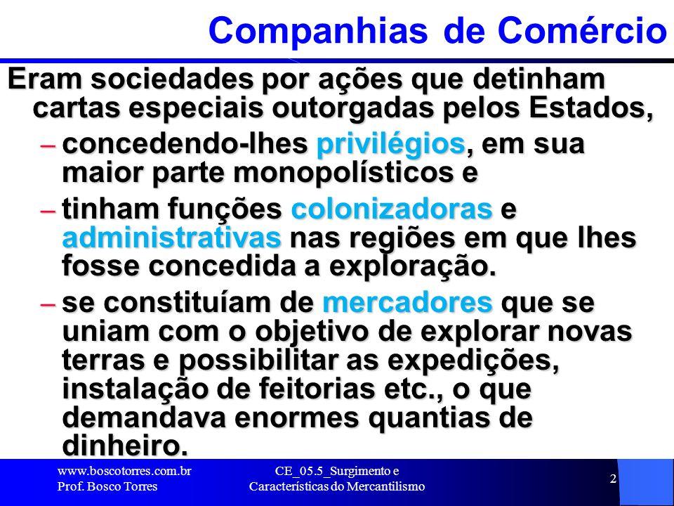 Companhias de Comércio