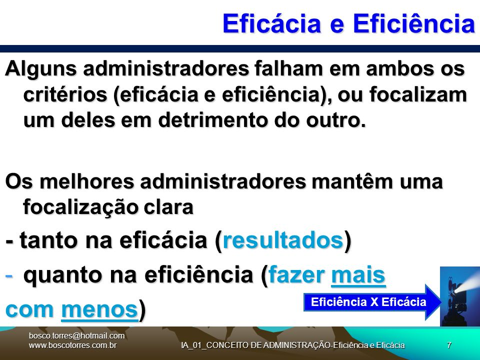 IA_01_CONCEITO DE ADMINISTRAÇÃO-Eficiência e Eficácia