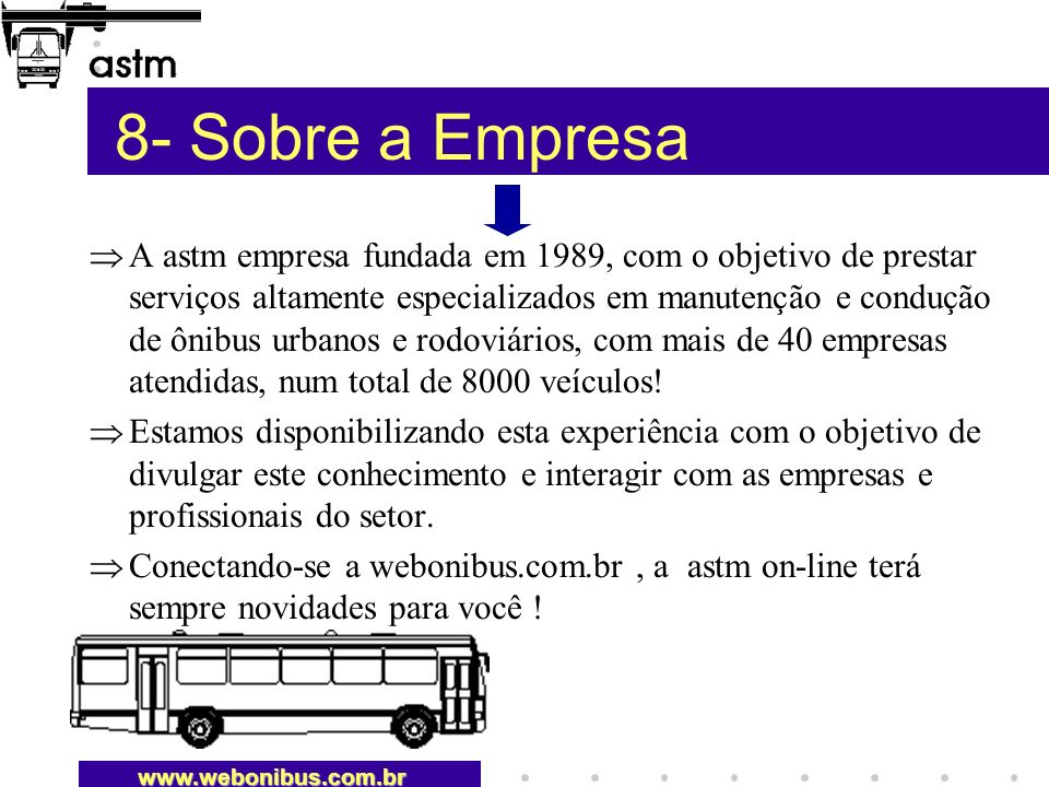 8- Sobre a Empresa