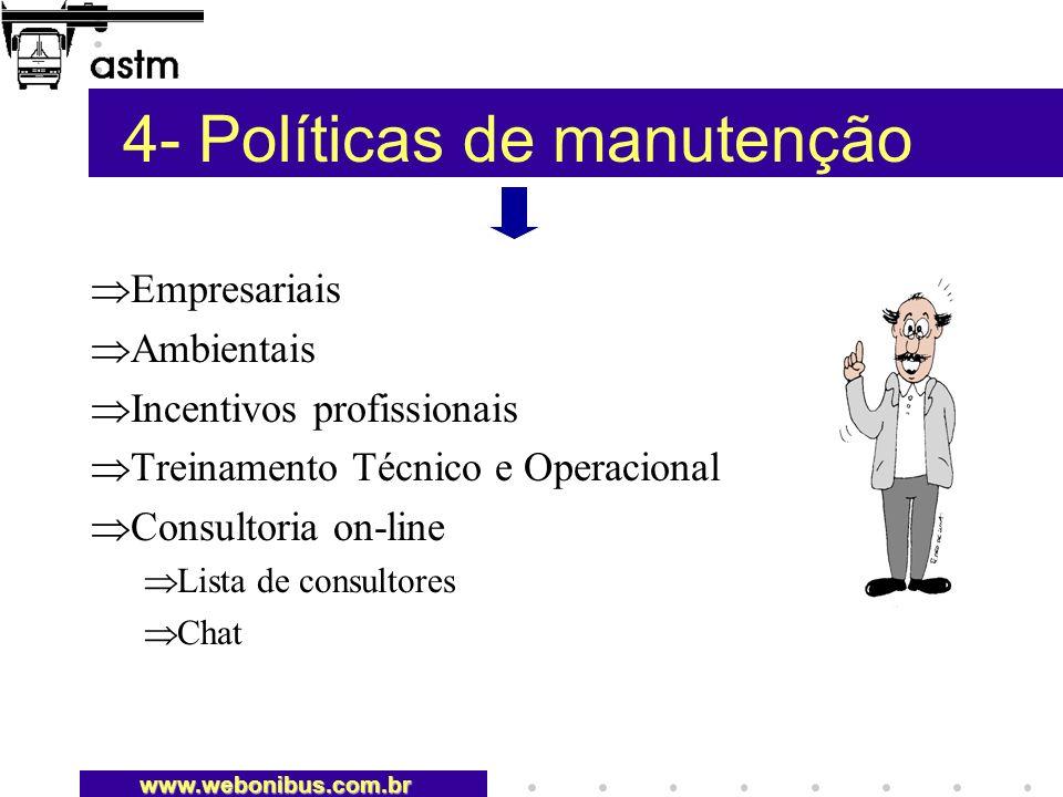 4- Políticas de manutenção