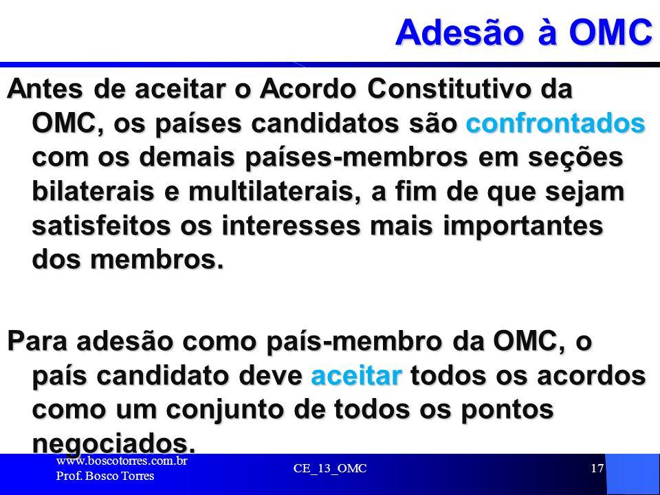 Adesão à OMC