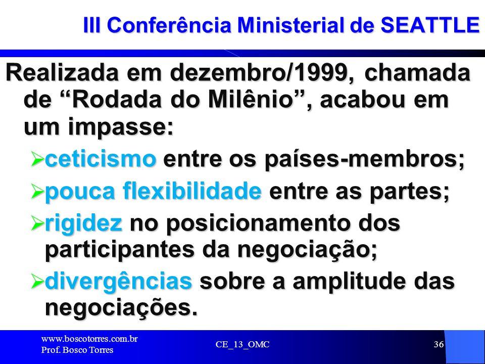 III Conferência Ministerial de SEATTLE