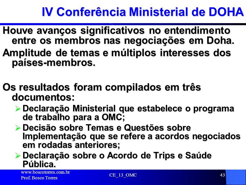 IV Conferência Ministerial de DOHA