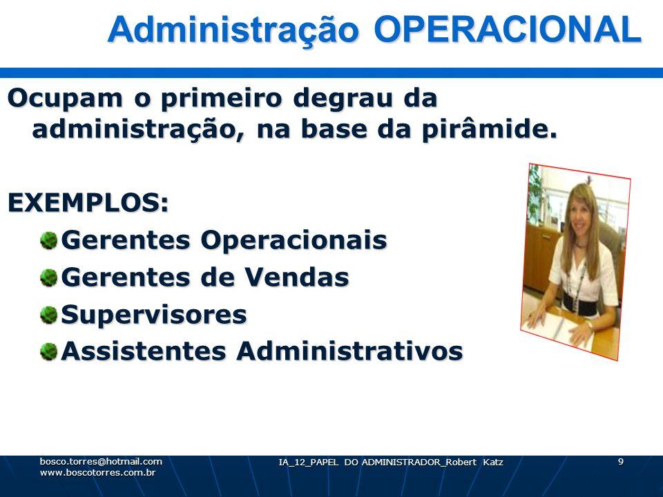 Administração OPERACIONAL