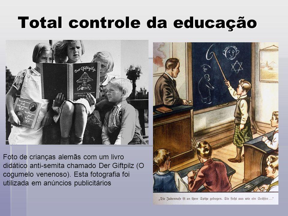 Total controle da educação