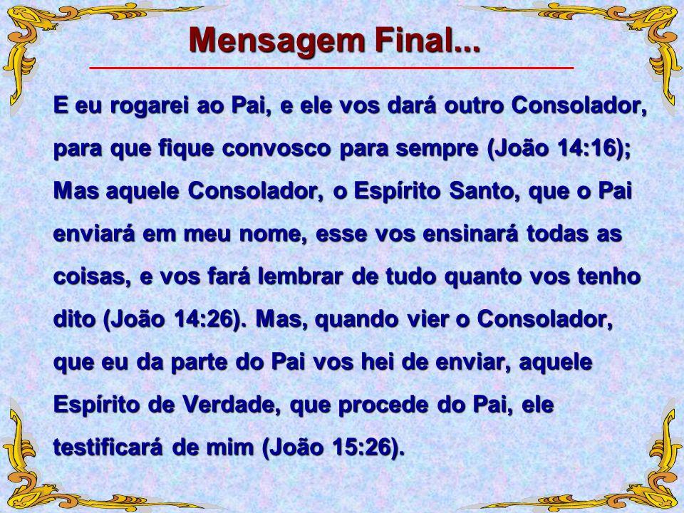 Mensagem Final...