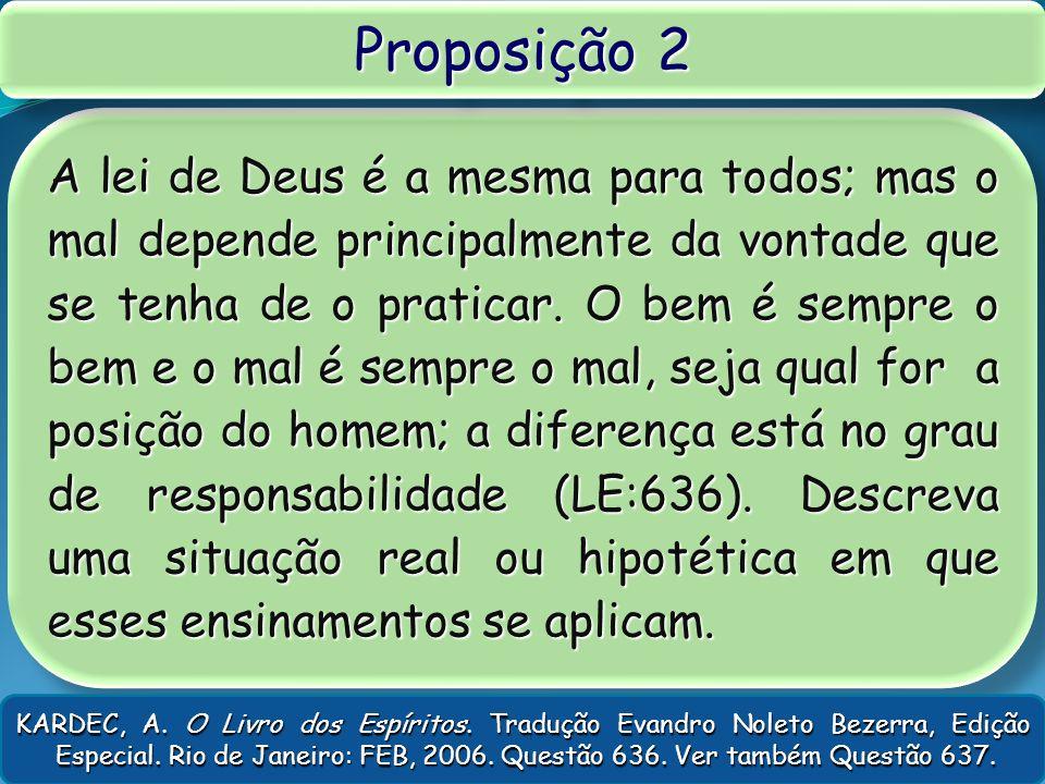 Proposição 2