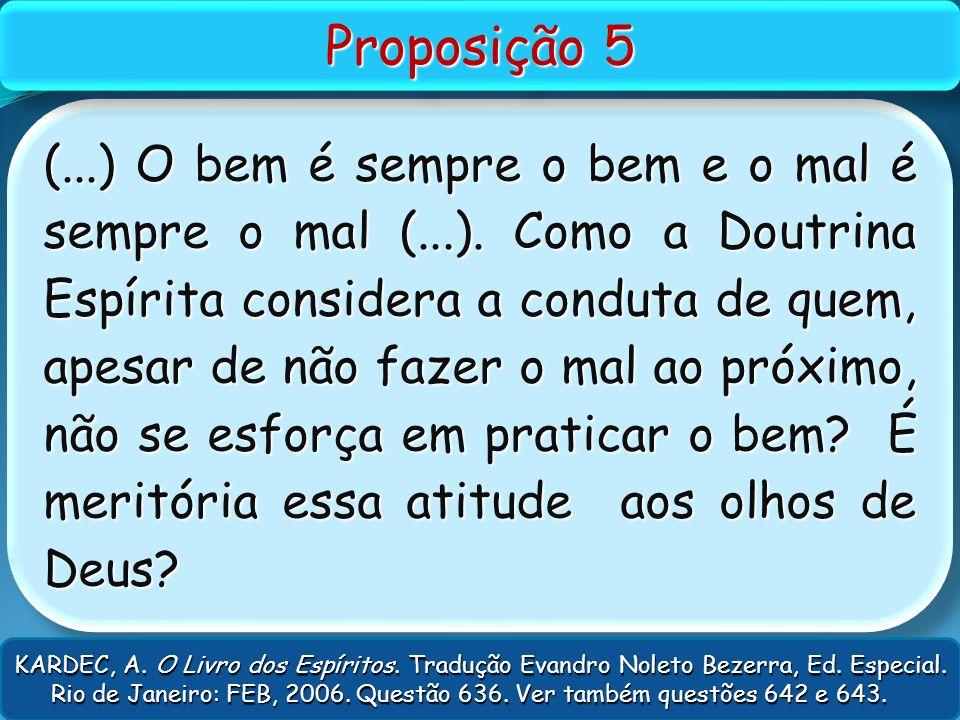 Proposição 5
