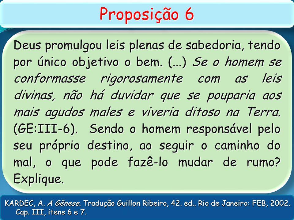 Proposição 6