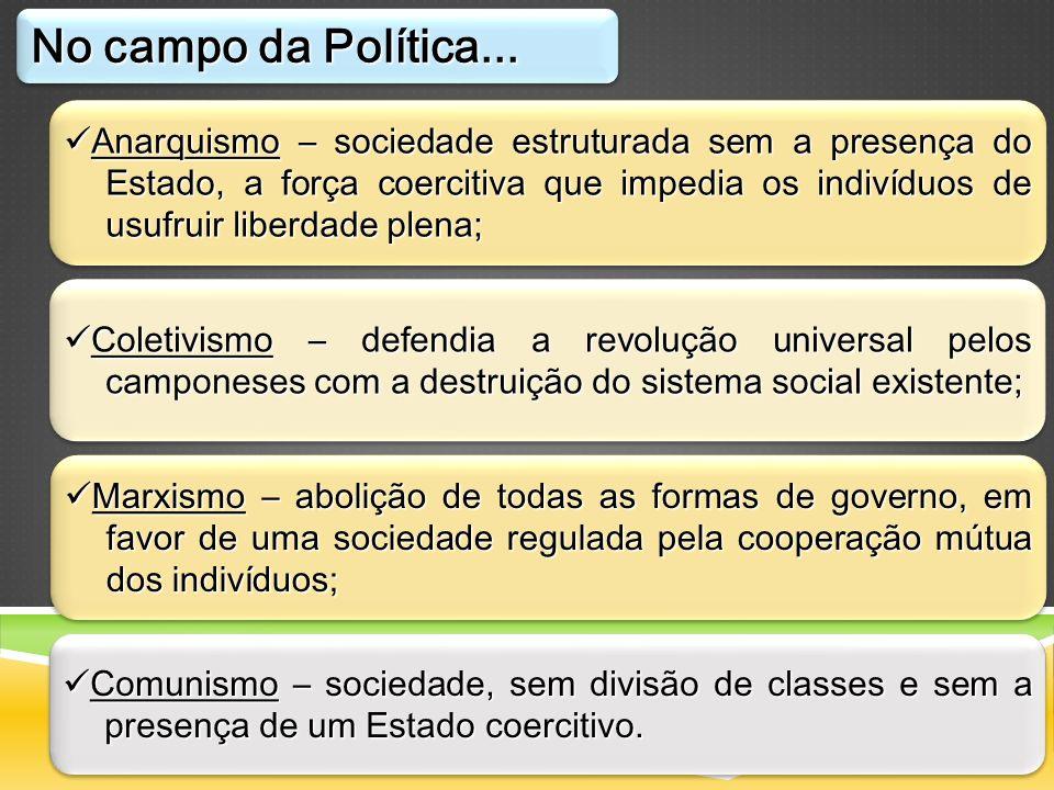 No campo da Política...