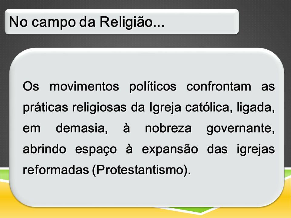 No campo da Religião...