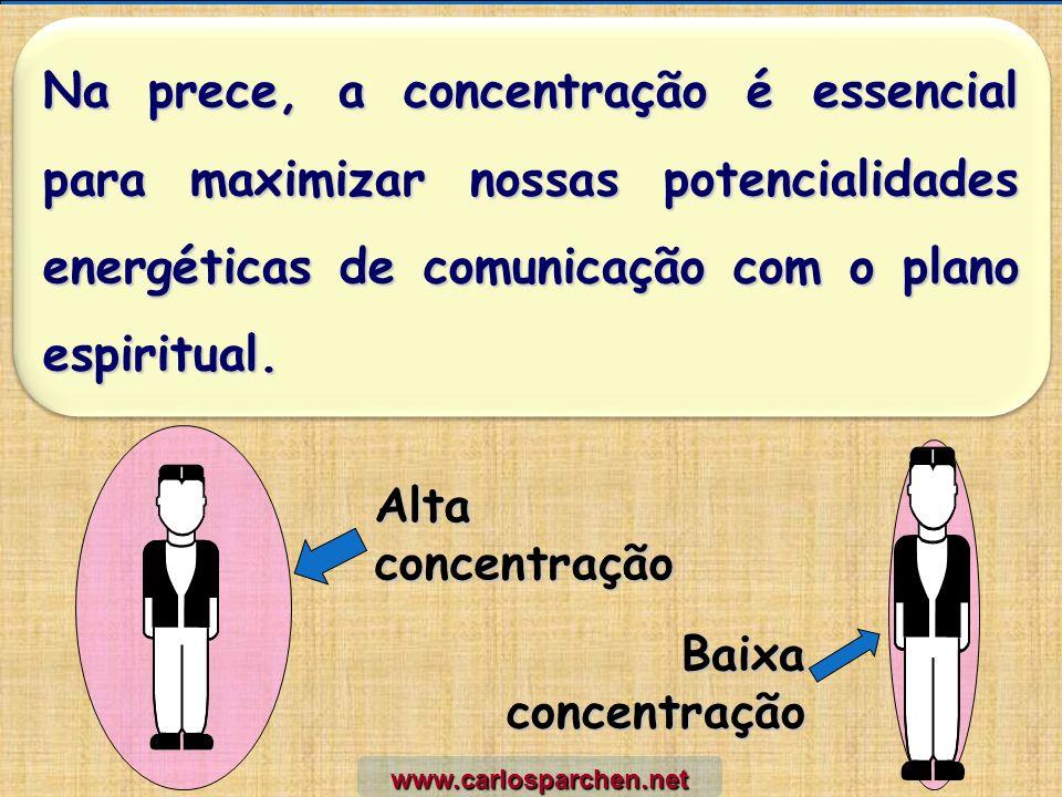 Na prece, a concentração é essencial para maximizar nossas potencialidades energéticas de comunicação com o plano espiritual.