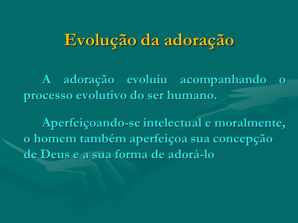 Evolução da adoração