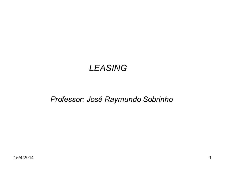 Professor: José Raymundo Sobrinho