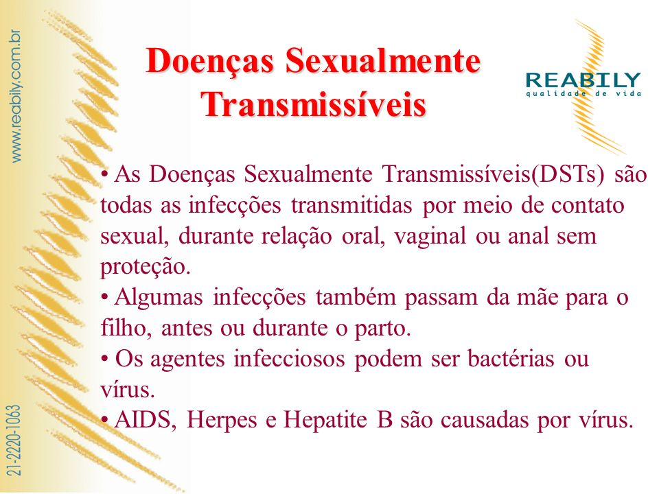 Doenças Sexualmente Transmissíveis