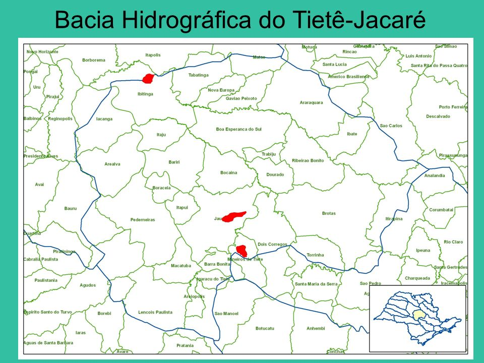 Bacia Hidrográfica do Tietê-Jacaré