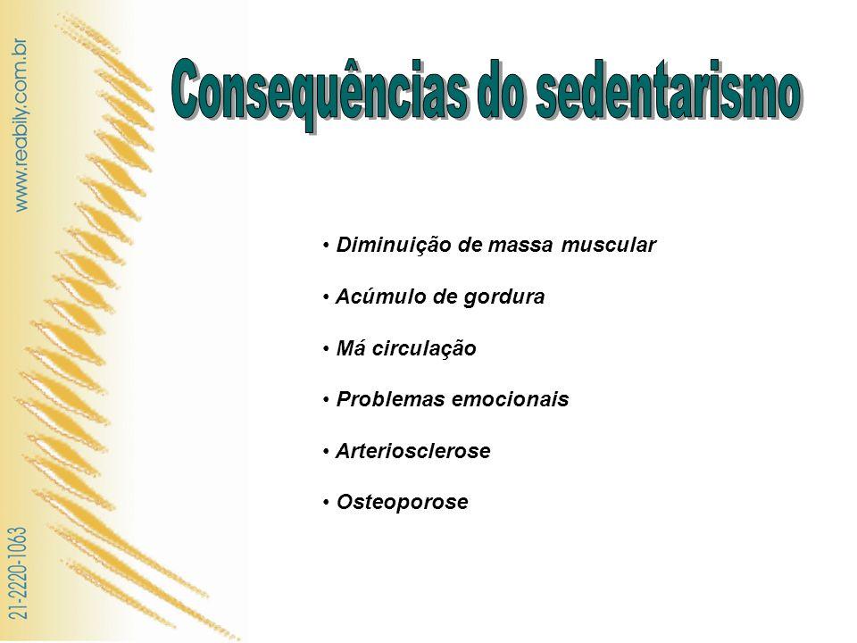 Consequências do sedentarismo
