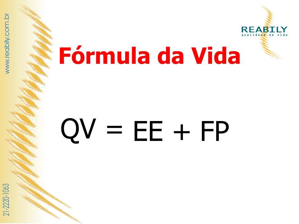 Fórmula da Vida QV = EE + FP