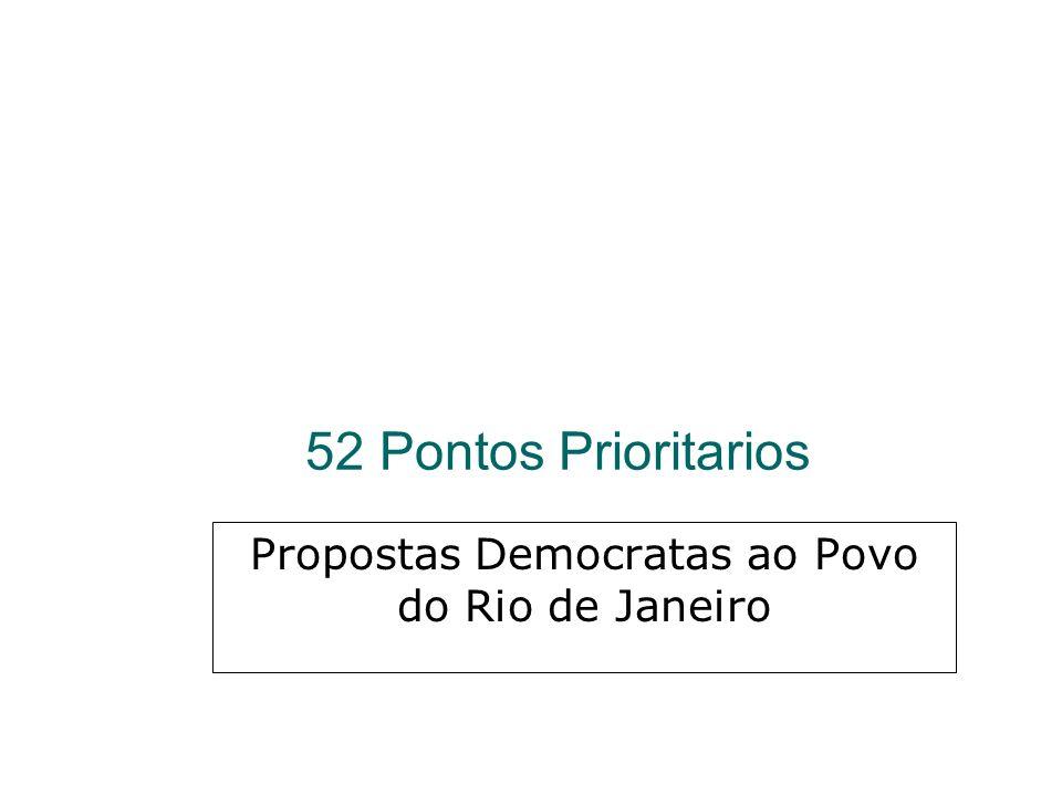 Propostas Democratas ao Povo do Rio de Janeiro
