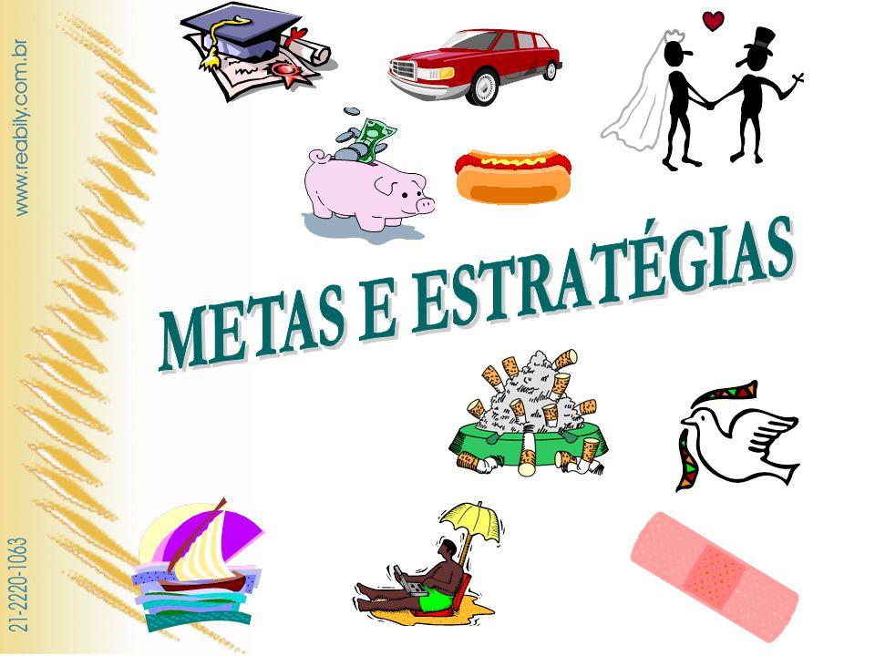 METAS E ESTRATÉGIAS