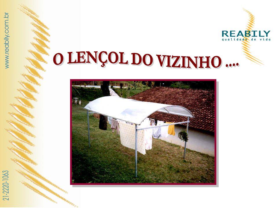 O LENÇOL DO VIZINHO ....