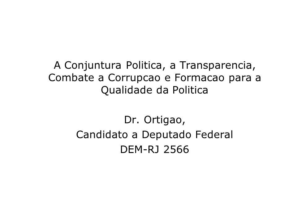 Candidato a Deputado Federal