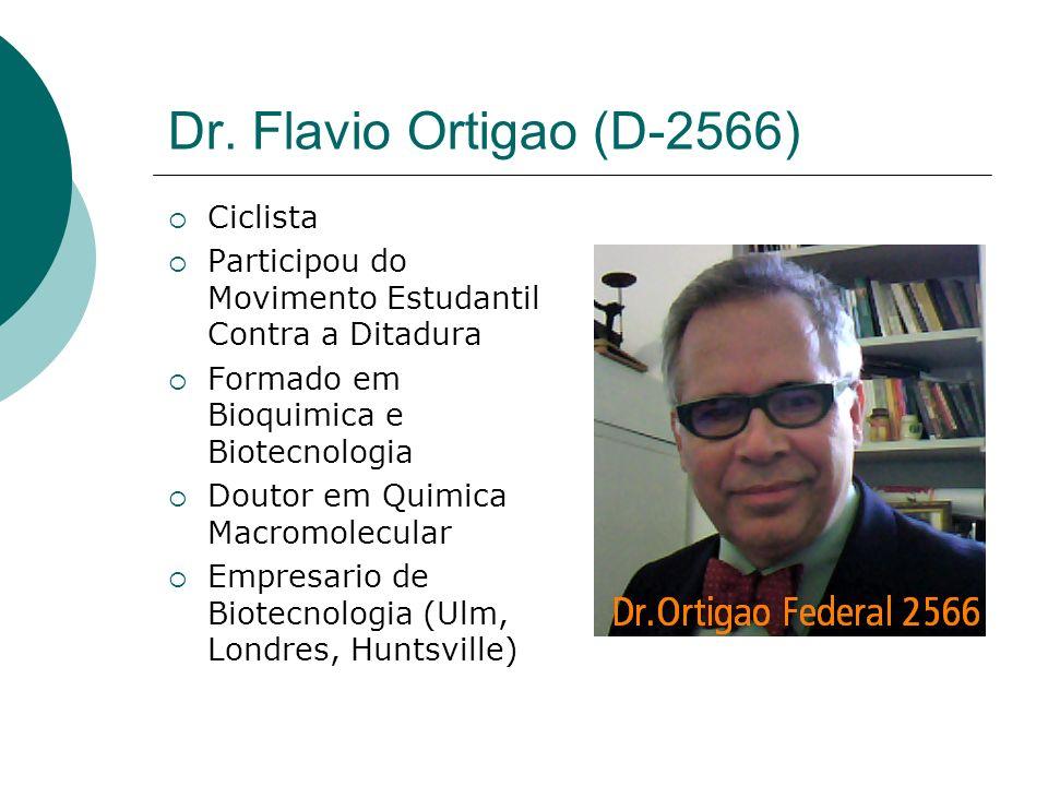 Dr. Flavio Ortigao (D-2566) Ciclista
