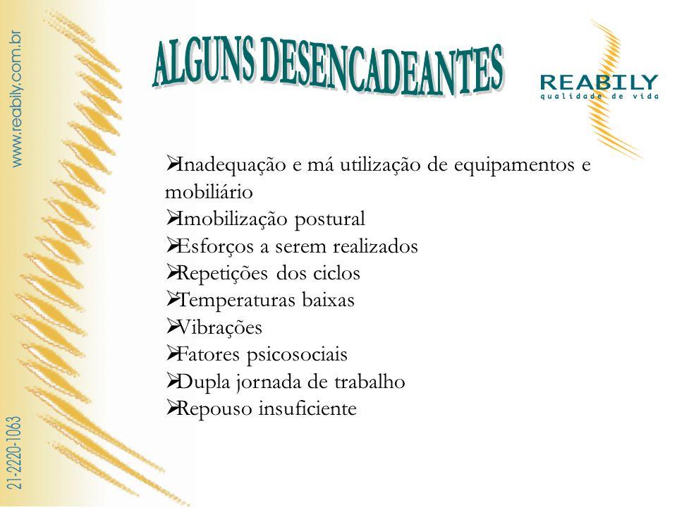 ALGUNS DESENCADEANTES