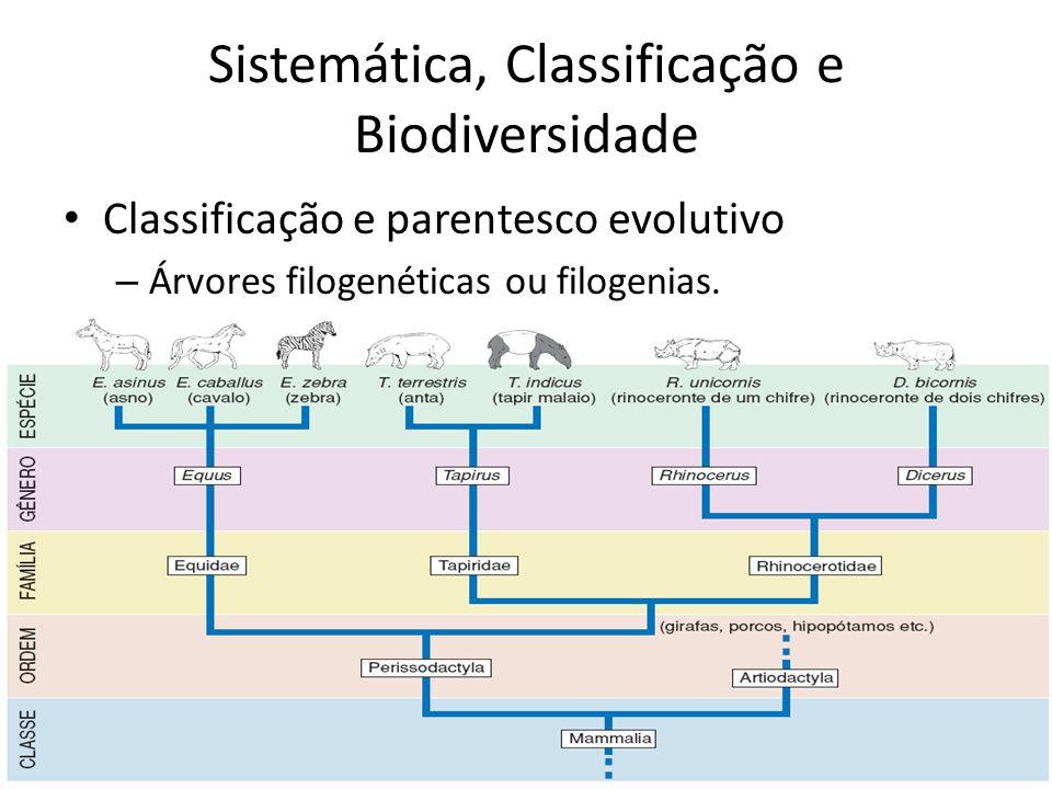 Sistemática, Classificação e Biodiversidade