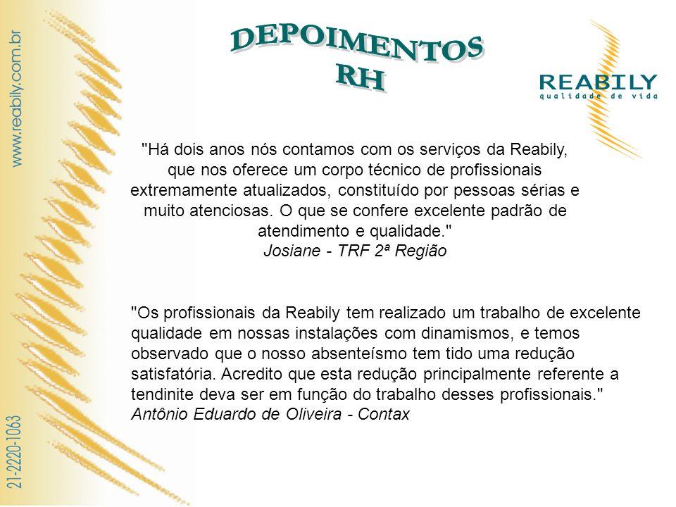 DEPOIMENTOS RH.