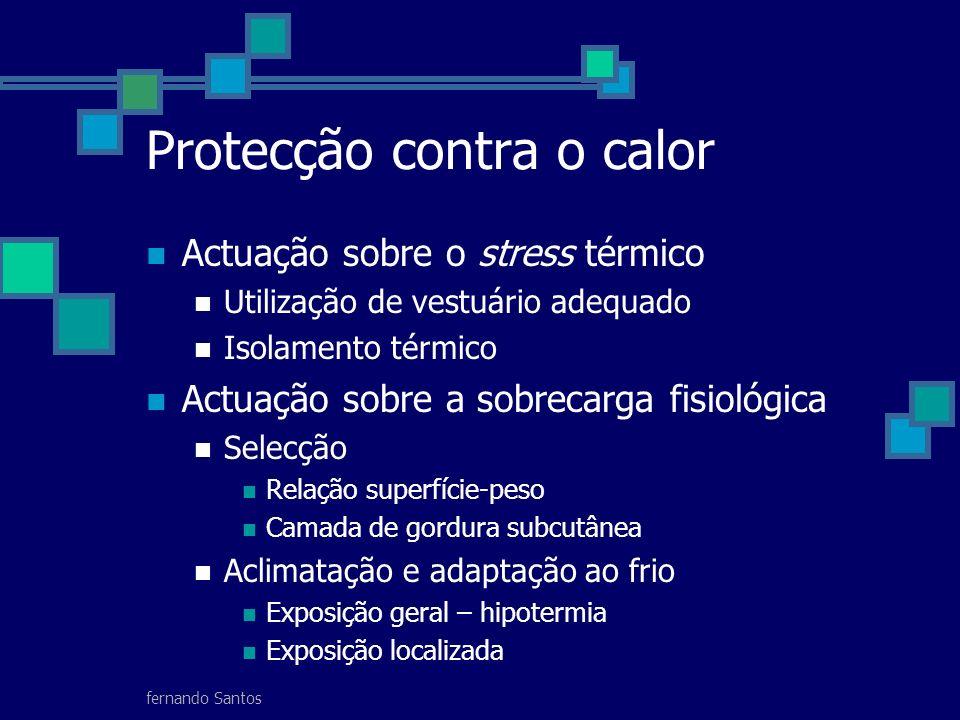 Protecção contra o calor