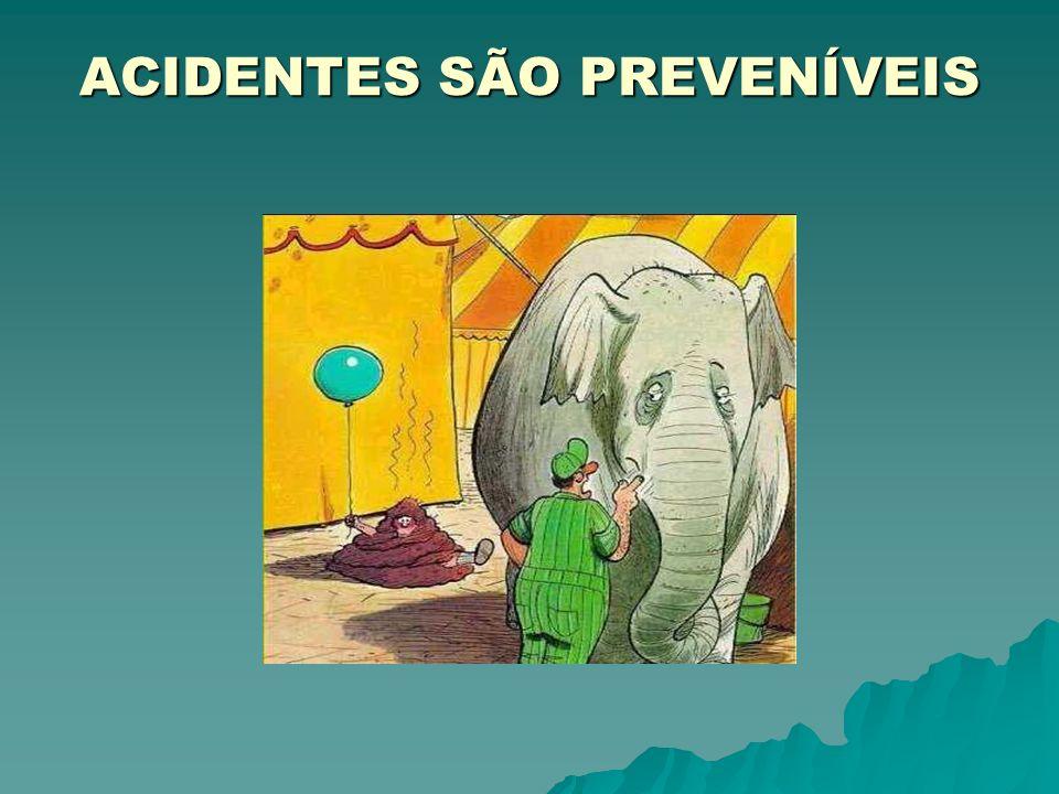 ACIDENTES SÃO PREVENÍVEIS