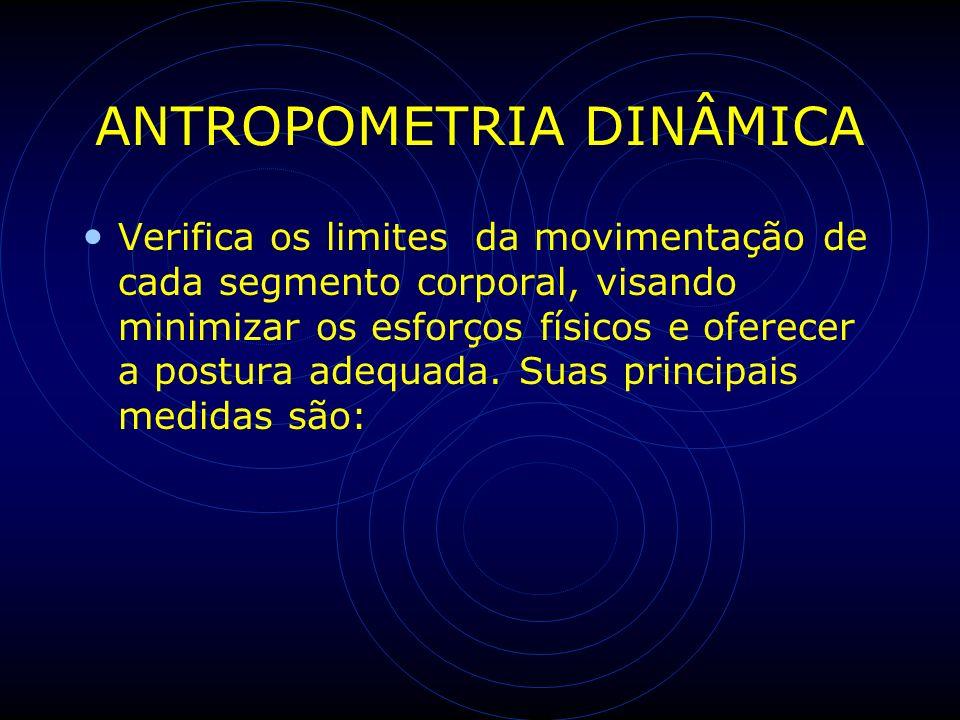 ANTROPOMETRIA DINÂMICA