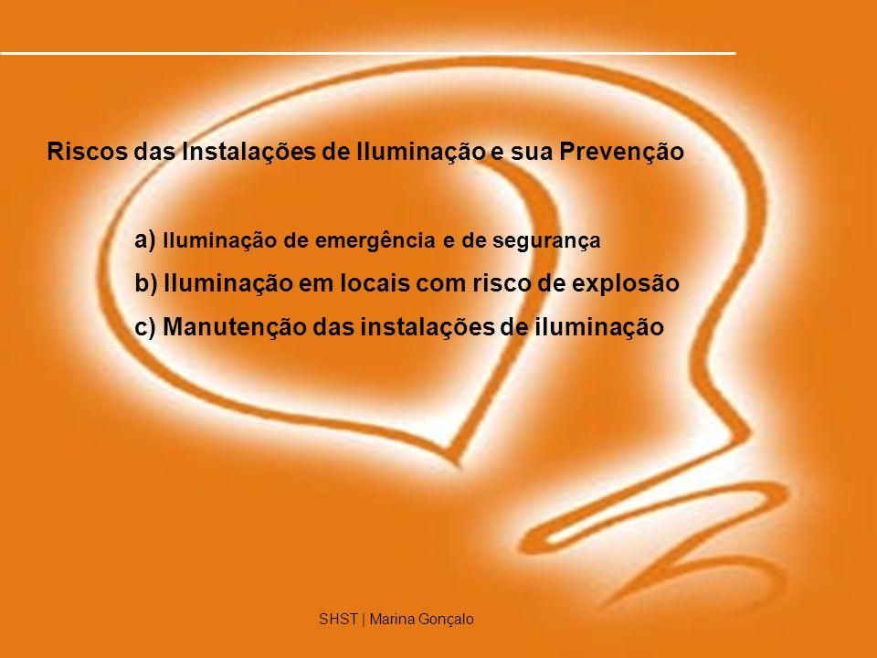 Riscos das Instalações de Iluminação e sua Prevenção