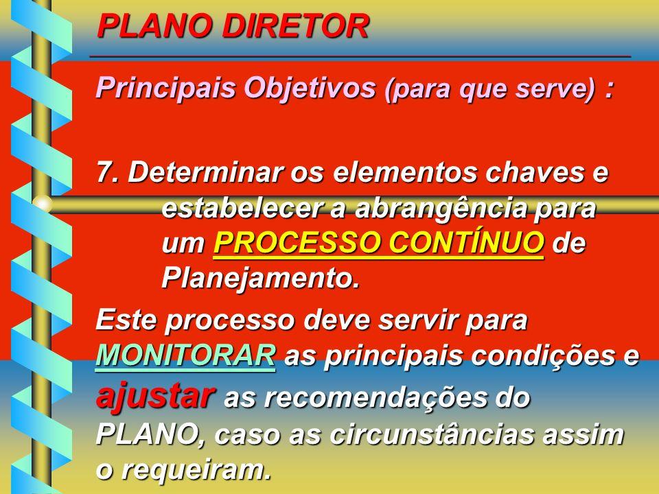 Principais Objetivos (para que serve) :