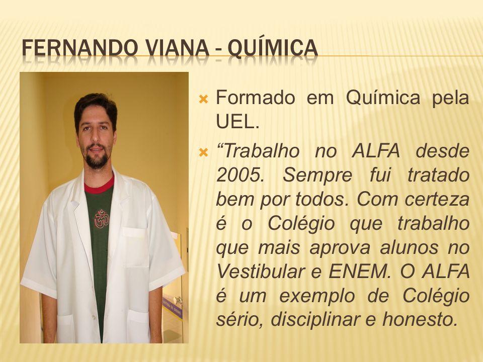 Fernando Viana - Química