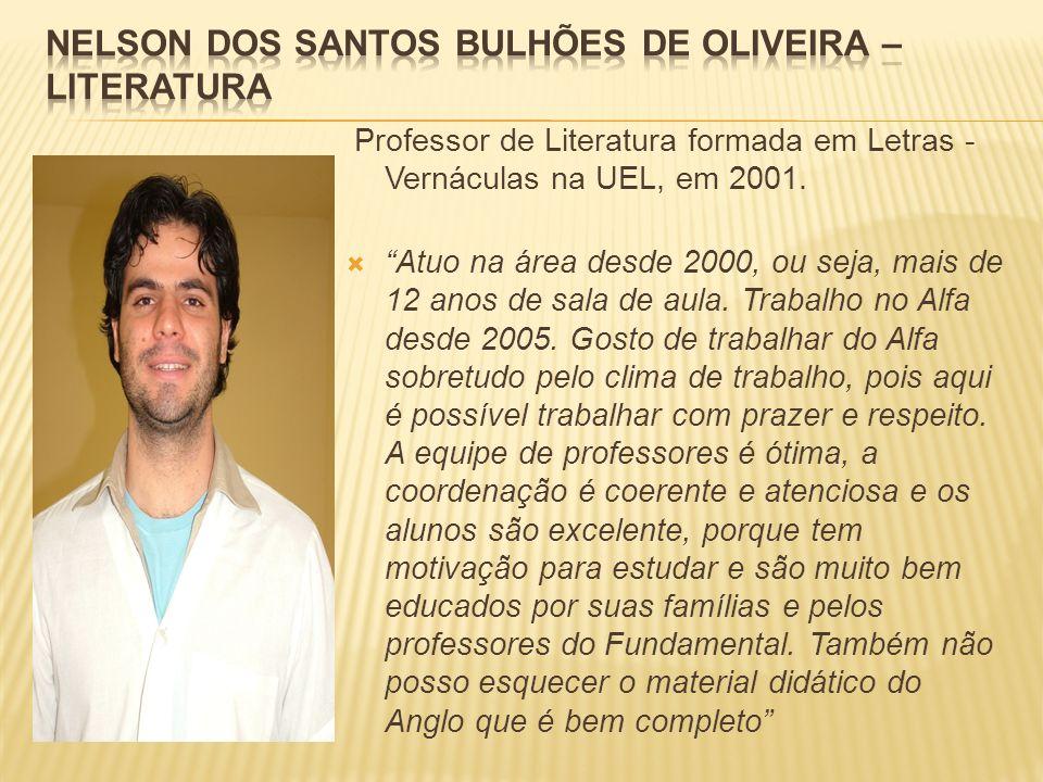 Nelson dos Santos Bulhões de Oliveira – Literatura