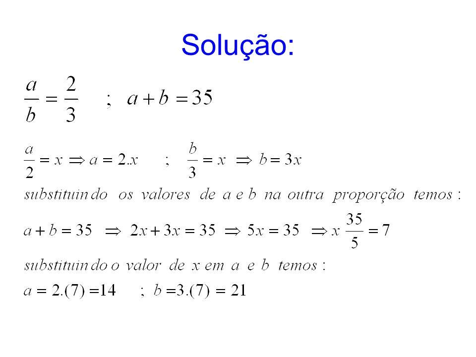 Solução: