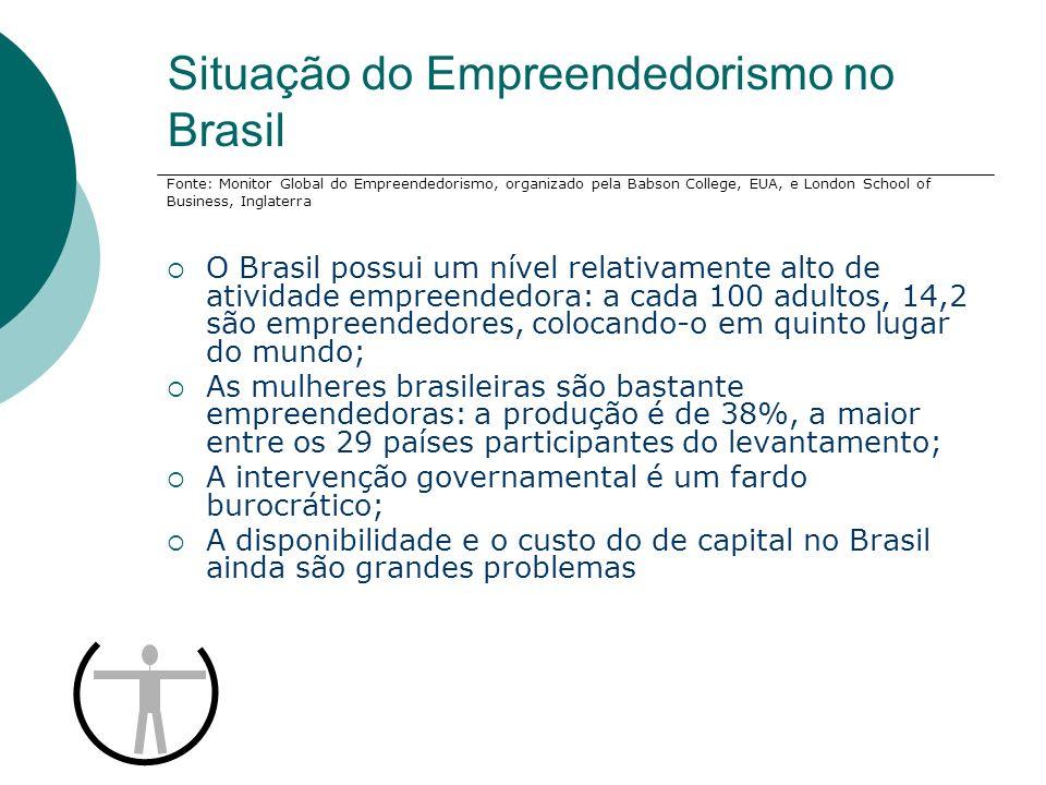 Situação do Empreendedorismo no Brasil