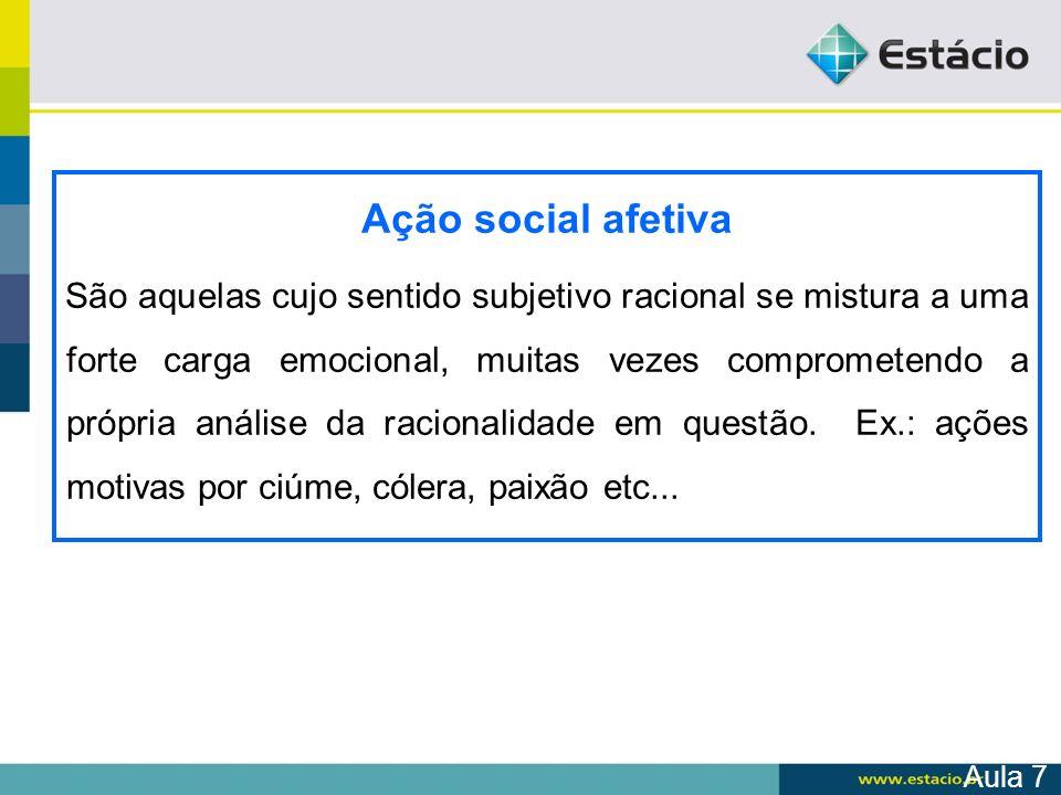 Ação social afetiva