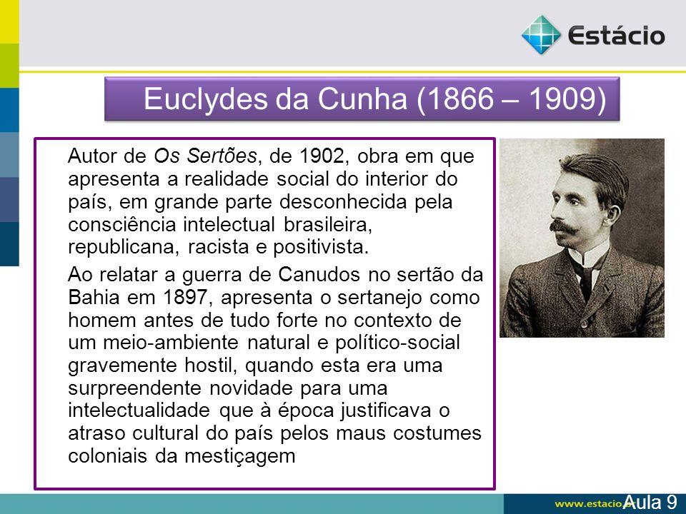 Euclydes da Cunha (1866 – 1909)