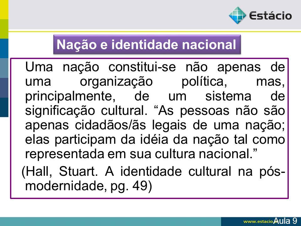 Nação e identidade nacional