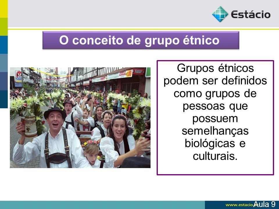 O conceito de grupo étnico