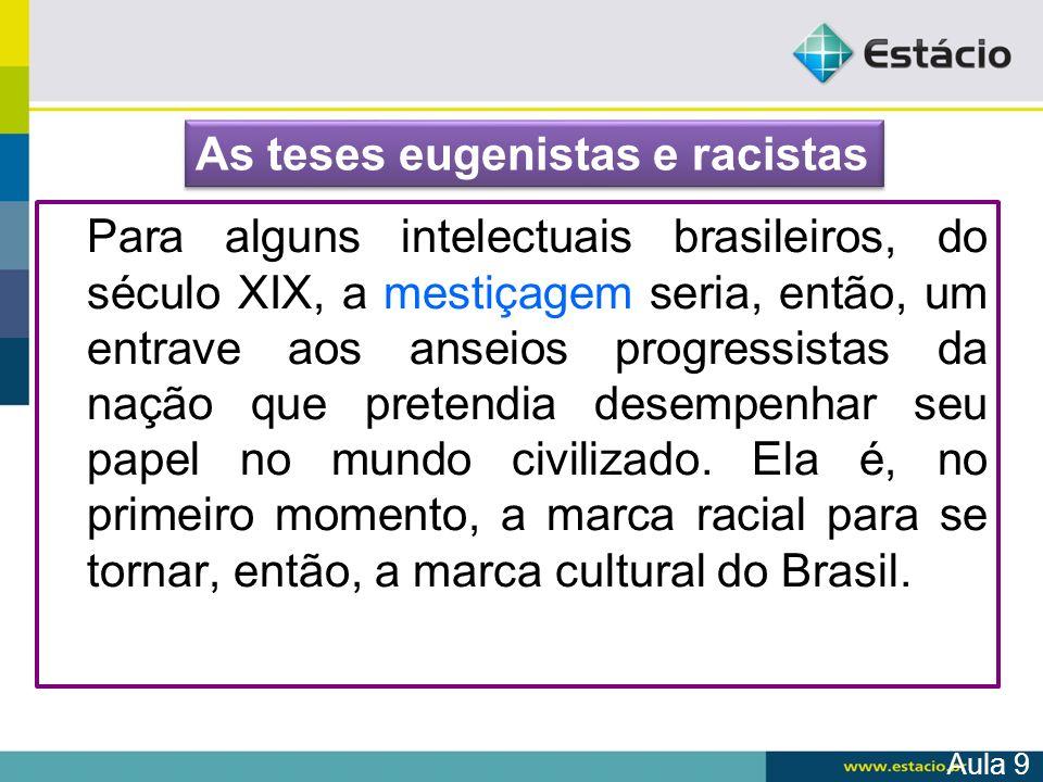 As teses eugenistas e racistas