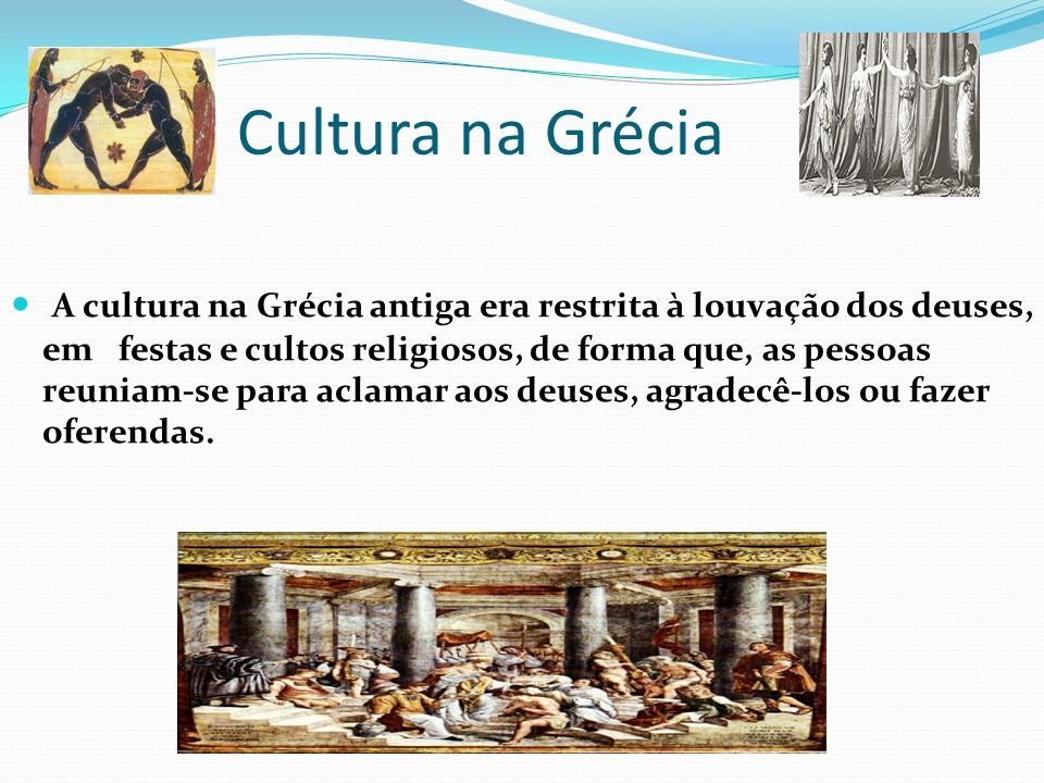 Cultura na Grécia