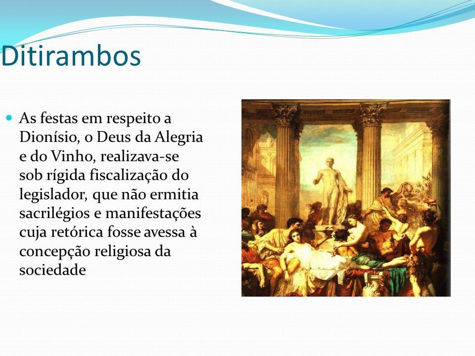 Ditirambos