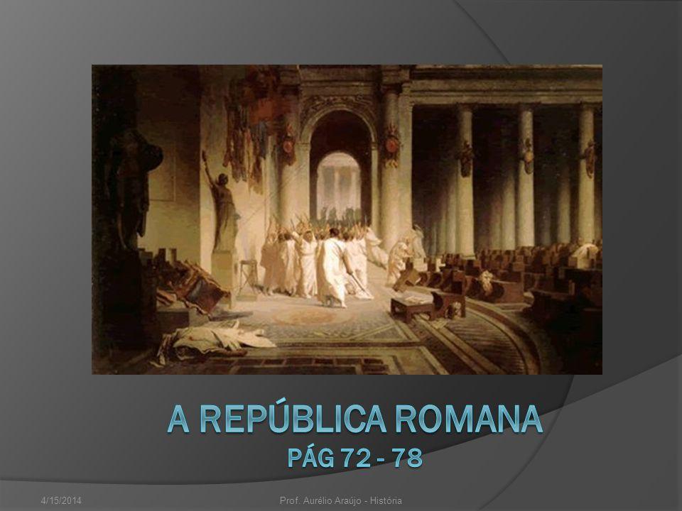 A REPÚBLICA ROMANA pág 72 - 78