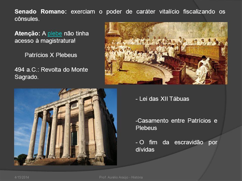 Prof. Aurélio Araújo - História