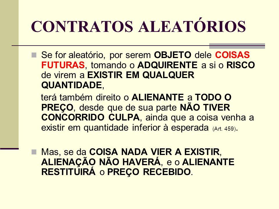 CONTRATOS ALEATÓRIOS